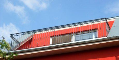 rampe de terrasse en fer forgé