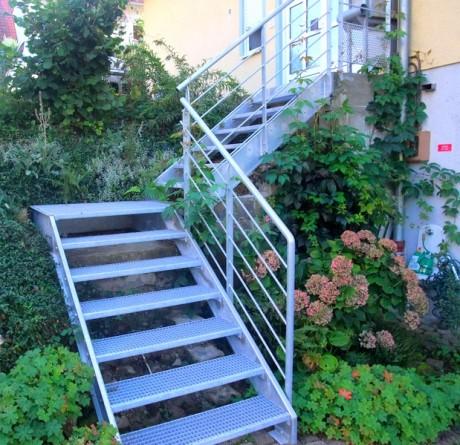 escalier galvanisé marche cailleboti