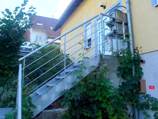 Escalier Galvanis Marches Caillebotis Metal Concept Escalier Ferronnerie D 39 Art Alsace