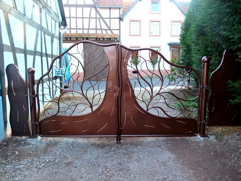 portail v g tal metal concept escalier ferronnerie d. Black Bedroom Furniture Sets. Home Design Ideas
