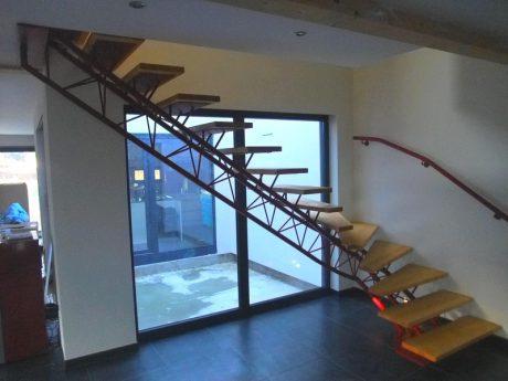 escalier en structure légère