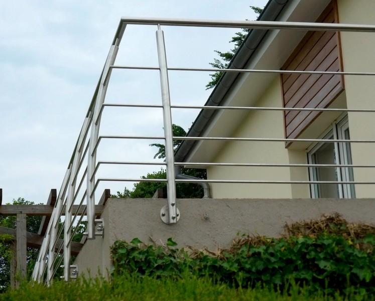 terrasse bois garde corps inox id es sur les parcs et. Black Bedroom Furniture Sets. Home Design Ideas