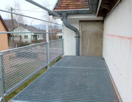 escalier exterieur métalique 2