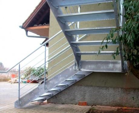 escalier exterieur métalique 4