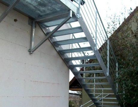 escalier exterieur métalique 5