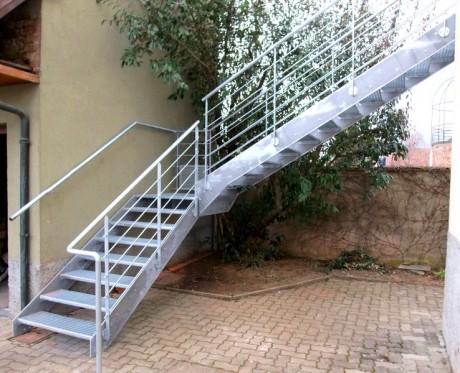 escalier exterieur métalique 6