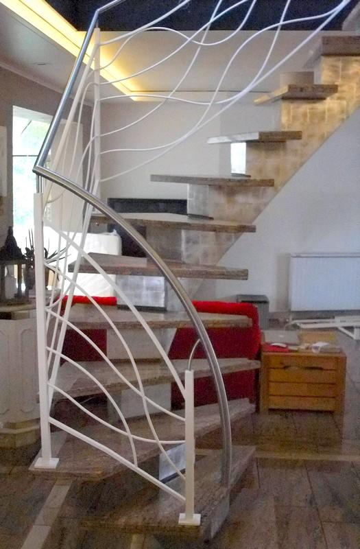Rampe Design Metal Concept Escalier Ferronnerie D 39 Art Alsace Ferronnier Strasbourg
