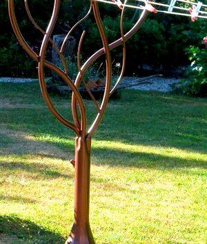 Tendoir linge arbre metal concept escalier - Etendoir a linge exterieur en metal ...