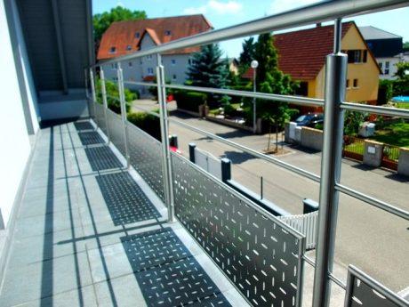 garde corps inox bross pour balcon metal concept escalier ferronnerie d 39 art alsace. Black Bedroom Furniture Sets. Home Design Ideas
