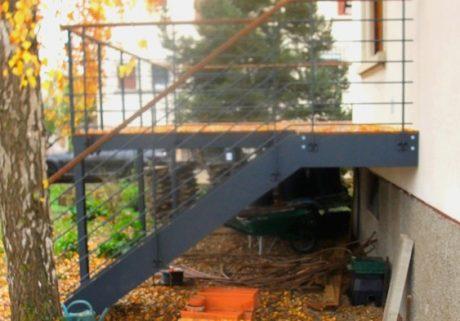 Balcon Et Terrasse  Metal Concept  Escalier Ferronnerie DArt
