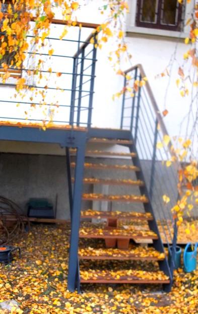 Terrasse Sur Pilotis Metal : Terrasse sur pilotis Metal Concept u2013 escalier