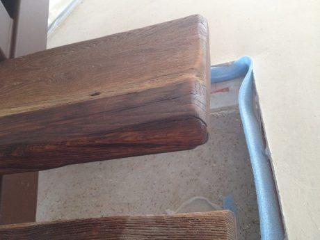 escalier marche rustiques